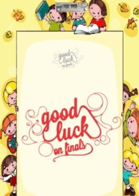 Printland Kids Good Luck Exam board PEB0100015 Examination Pads