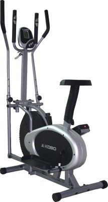 Kobo Multi Orbitrac Elliptical Orbitrack Dual Action Upright Stationary Exercise Bike(Black, Grey)
