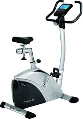 Hammer Finlo Upright Exum 3170 Exercise Bike(Black, White)