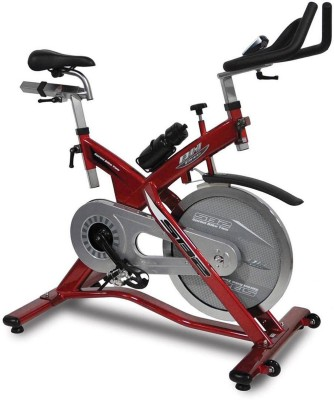 BH Fitness H916 Upright Stationary Exercise Bike(Red, Grey)