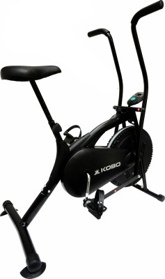 Kobo Air Delux Cycle Black Upright Stationary Exercise Bike(Black)
