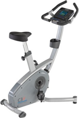 Life Span C3I Upright Stationary Exercise Bike(Black, Grey)
