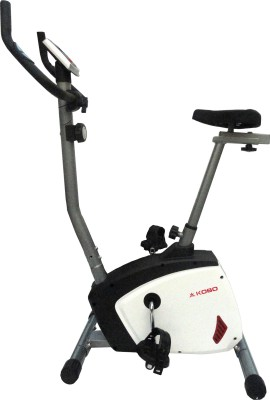 Kobo Magnetic Home Gym Upright Stationary Exercise Bike(White, Black)