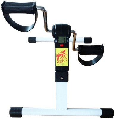 ASP Healthcare Pro Fit Bike Upright Stationary Exercise Bike(Black, Grey)