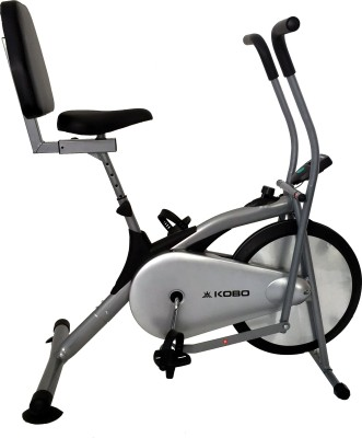 Kobo Air Delux Cycle With Back Rest Upright Exercise Bike