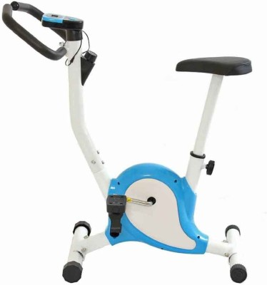 Kobo CYCLE AB CARE KING CARDIO FITNESS HOME GYM Upright Stationary Exercise Bike(White, Blue)