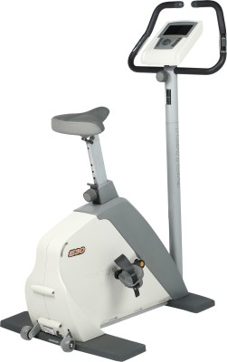 Tunturi E30 Upright Stationary Exercise Bike(Grey)