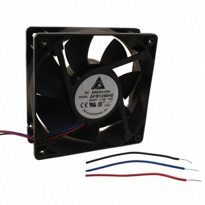 DELTA DC Fan Speed Sensor and PWM control - AFB1248VHE-TP18 120 mm Exhaust Fan