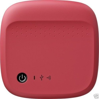 Seagate 500 GB Wireless External Hard Disk Drive(Red) at flipkart