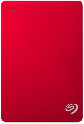 Seagate Backup Plus Portable Drive 4 TB External Hard Disk Drive(Red) at flipkart