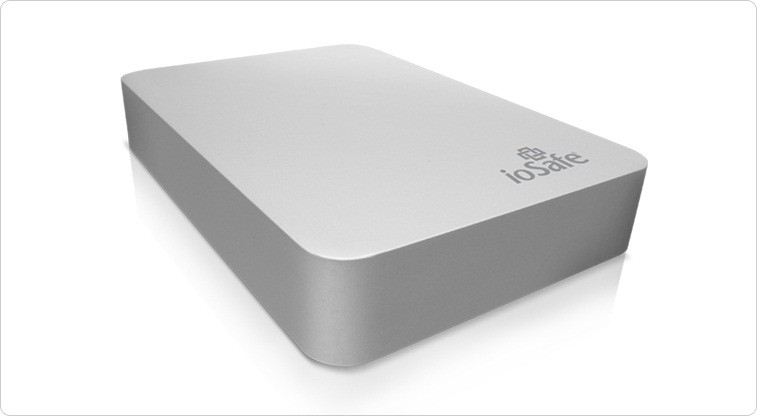 ioSafe Rugged Portable 1TB (Fire Wire) 1 TB External Hard Disk Drive(Silver)