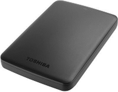 Toshiba Canvio Basics (HDTB310AK3AA) 1 TB External Hard Disk