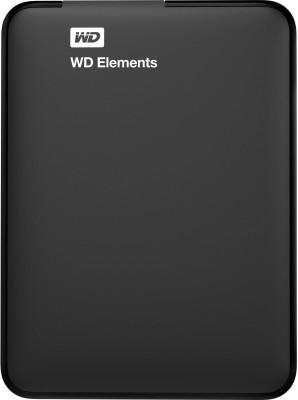 WD 1 TB Wired External Hard Disk Drive(Black, External Power Required) at flipkart