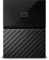 View WD My Passport 1 TB Wired External Hard Disk Drive(Black) Price Online(WD)