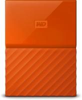 View WD My Passport 2 TB Wired External Hard Disk Drive(Orange) Price Online(WD)