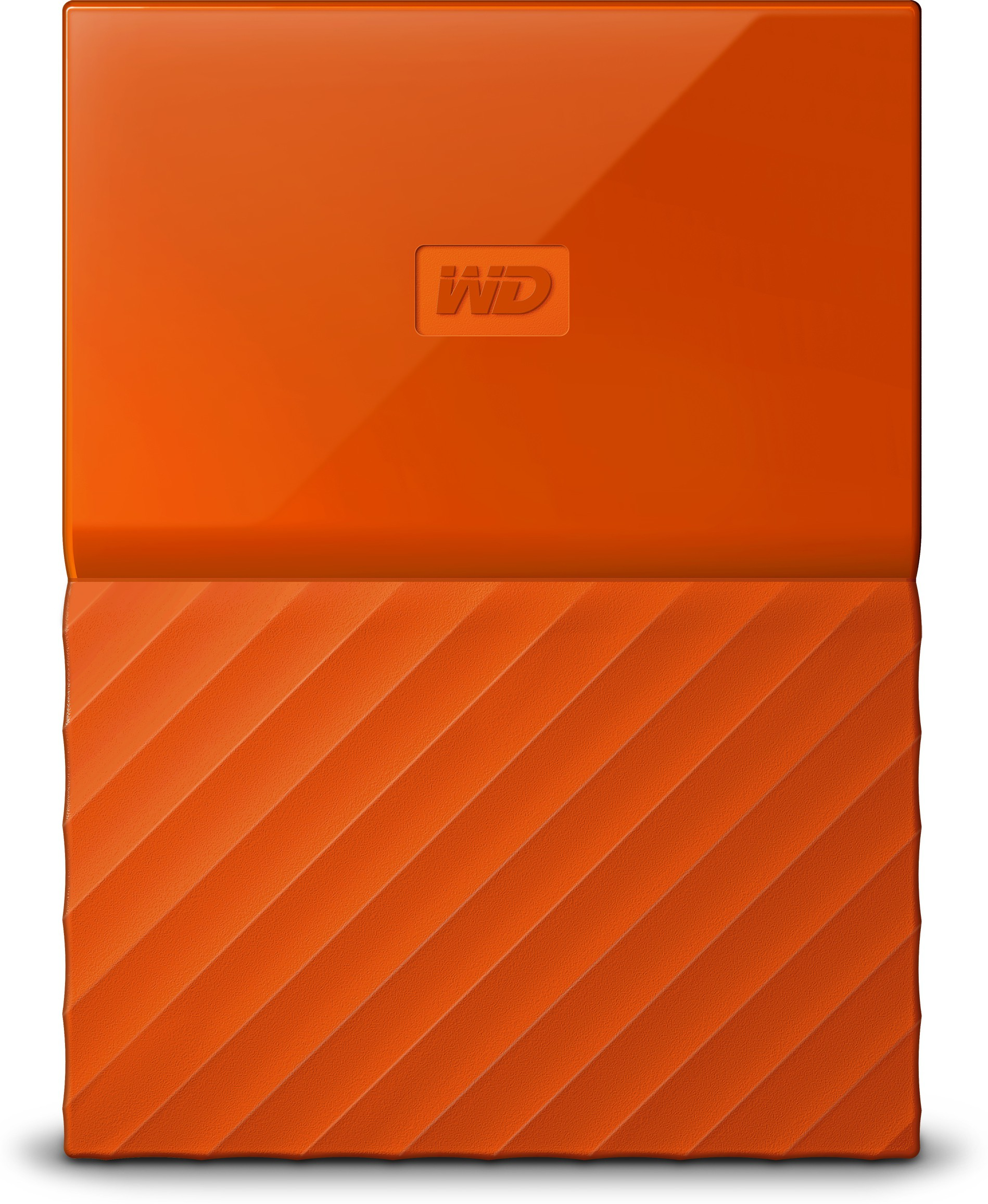 WD My Passport 1 TB Wired External Hard Disk Drive(Orange)   Computer Storage  (WD)