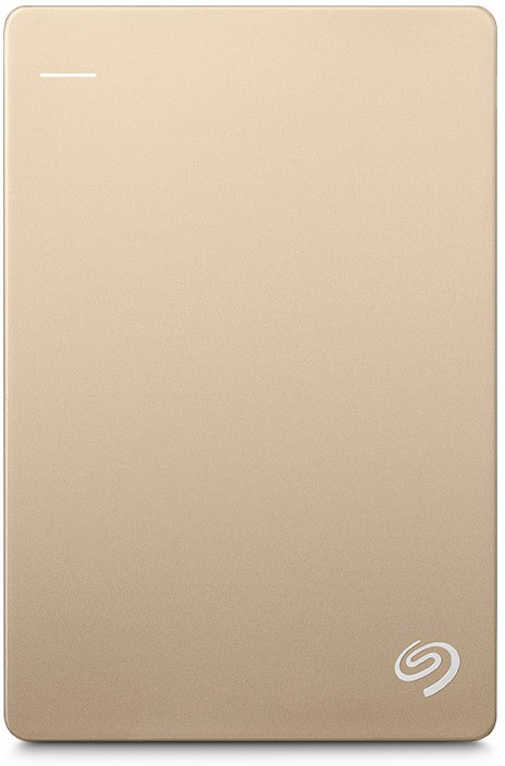 View Seagate 2 TB Wired External Hard Disk Drive with  200 GB  Cloud Storage(Gold) Price Online(Seagate)