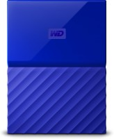 View WD My Passport 1 TB Wired External Hard Disk Drive(Blue) Price Online(WD)