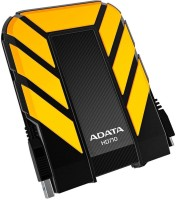 View ADATA 2 TB Wired External Hard Disk Drive(Yellow) Price Online(ADATA)