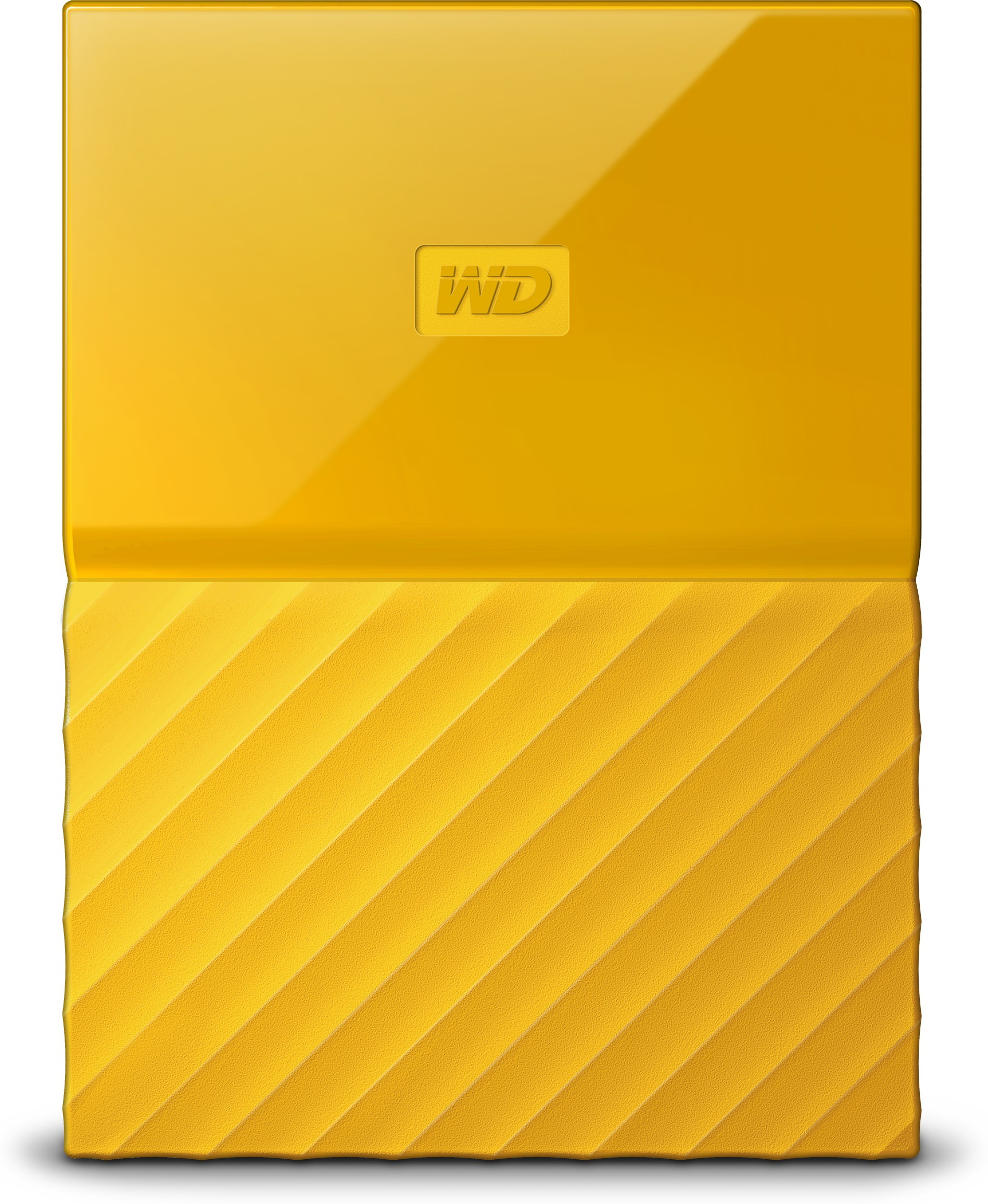 WD My Passport 1 TB Wired External Hard Disk Drive(Yellow)   Computer Storage  (WD)