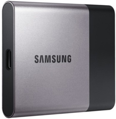 Samsung T3 1 TB External Solid State Drive(Silver Black) at flipkart