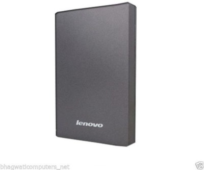 Lenovo 1 TB Wired External Hard Disk Drive(Grey)