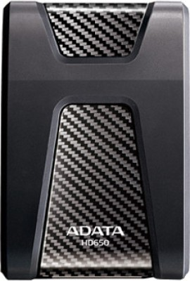 Adata DashDrive Durable 1 TB External Hard Disk Drive  HD650