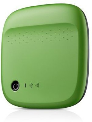 Seagate 500 GB Wireless External Hard Disk Drive(Green) at flipkart