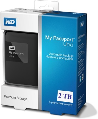 Western Digital 2 TB Wired External Hard Disk Drive