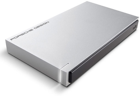 LaCie 1 TB Wired External Hard Disk Drive(Silver, External Power Required)