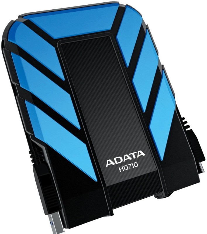 ADATA Dashdrive HD710 2 TB Wired External Hard Disk Drive(Blue)