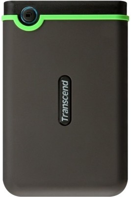 Transcend StoreJet 25M3 2.5 inch 2 TB External Hard Disk(Black) at flipkart