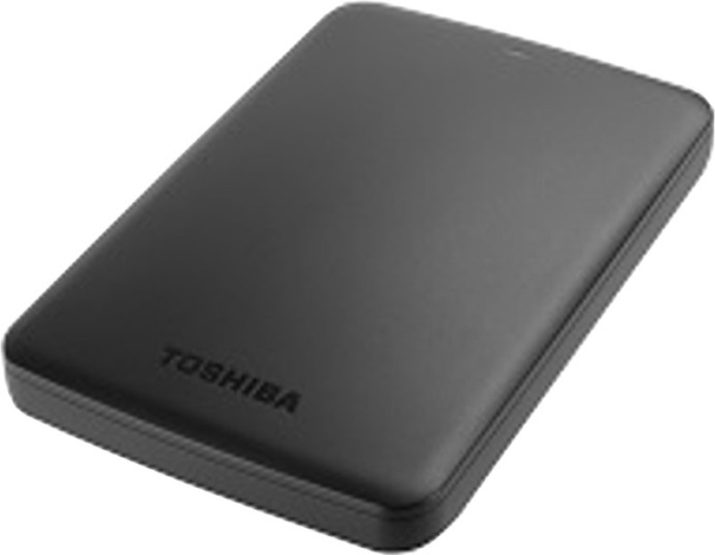 Toshiba Canvio Basic 500 GB External Hard Disk(Black)