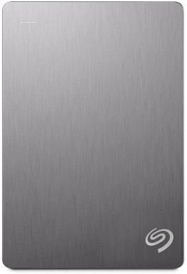 Seagate Backup Plus Portable Drive 4 TB(Silver) at flipkart