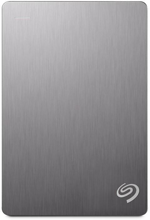 View Seagate Backup Plus Portable Drive 4 TB(Silver) Price Online(Seagate)