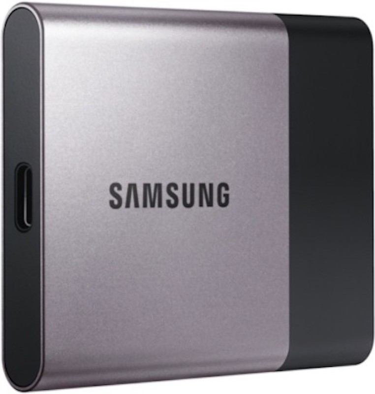 SAMSUNG T3 250 GB External Solid State Drive(Grey)
