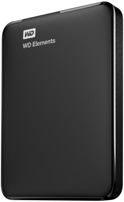 WD Elements 2.5 inch 500 GB External Hard Drive(Black)   Computer Storage  (WD)
