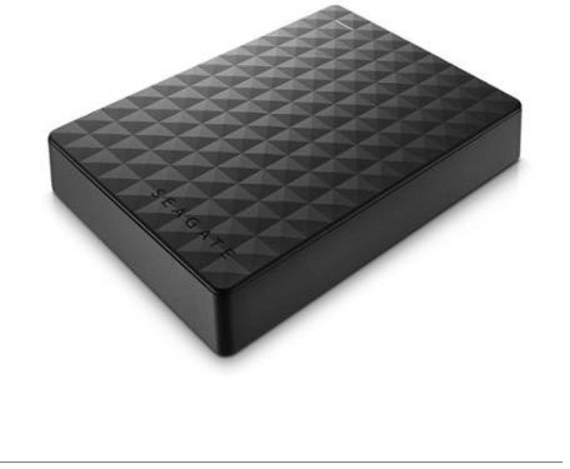 Seagate 4 TB Wired External Hard Disk Drive(Black)