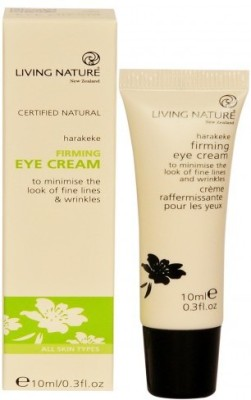 Living Nature Natural Firming Eye Cream with Harakeke and Larch Tree Extract