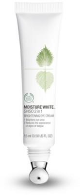 The Body Shop Moisture White Shiso 2 in 1 Brightening Eye Cream