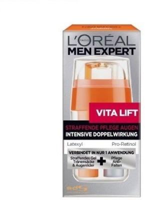 L,Oreal Paris Vita Lift Dual Under Eye Gel, Anti-Fatigue Cream