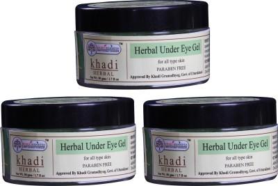 Khadi Rishikesh Herbal Under Eye Gel Pack of 3(50 g)