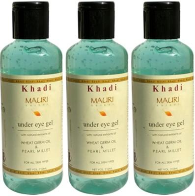 Khadimauri Under Eye Gel - Pack of 3 - Herbal Skin Toner