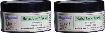 Khadi Rishikesh Herbal Under Eye Gel Pack of 2(50 g)