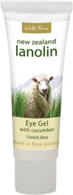 Wild Ferns Lanolin Eye Gel with Cucumber