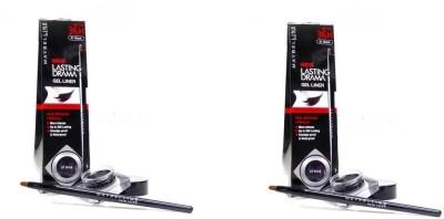 Maybelline Lasting Drama Gel Eye Liner Pack Of 2 5 g