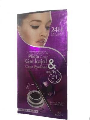 7 Heaven,S Gel Kajal And Cake Liner 7 g