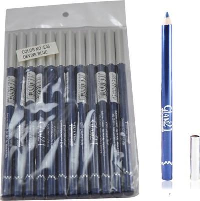 GLAM 21 BLUE GLIMMERSTICKS FOR EYES & LIPS PACK OF 12PCS- GH 1.8 g