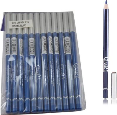 GLAM 21 BLUE GLIMMERSTICKS FOR EYES & LIPS PACK OF 12PCS-PO 1.8 g