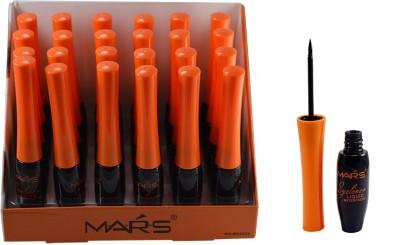 Mars LIQUID & WATERPROOF EYELINER PACK OF 24 PCS 120 g